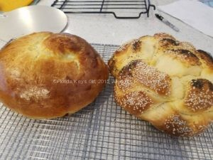 The one on the left was stuffed with apples, and it was divine.