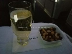 Delta One: It's always time for champagne.