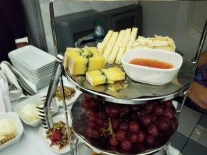 Delta One: The cheese trolley.