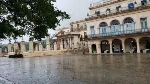 Havana in the rain